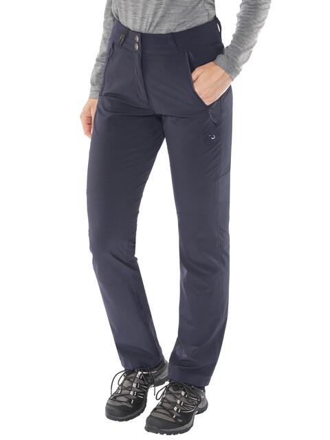 Mammut Runje - Pantalon long Femme - Regular bleu